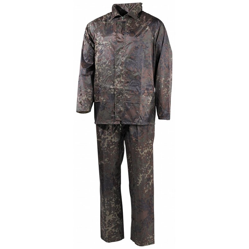 MFH Rain Suit - 2-part - BW camo