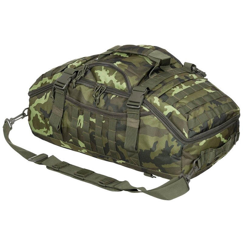 MFH Backpack Bag - Travel - M 95 CZ camo