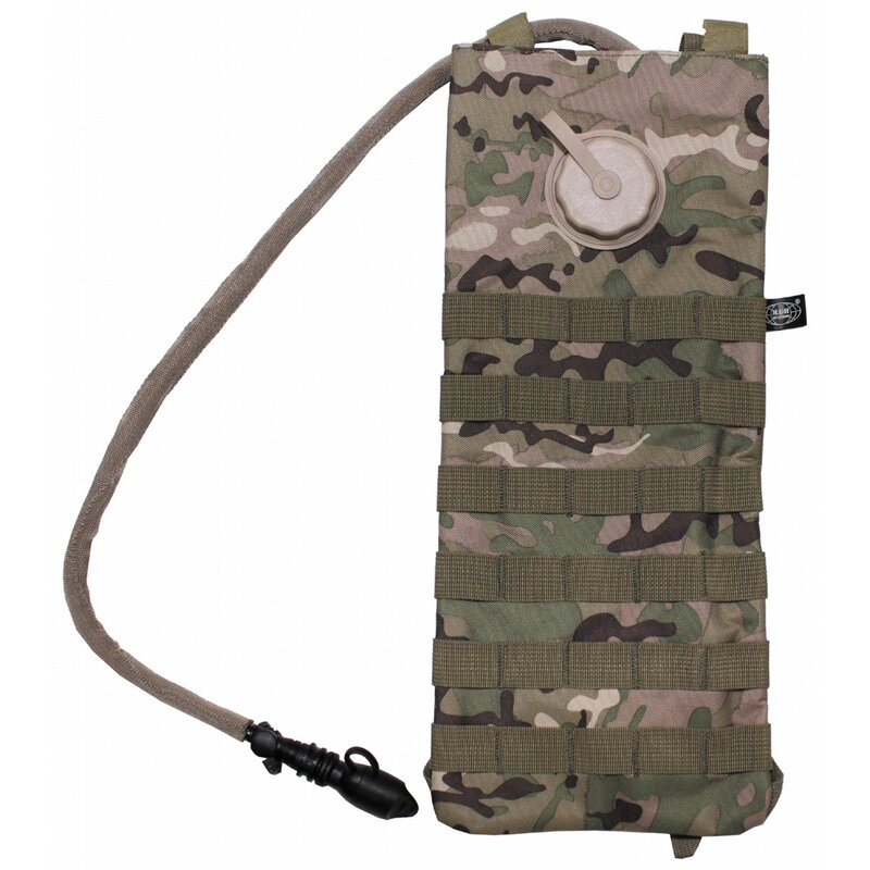 MFH Hydration Pack - MOLLE - 2,5 l - with TPU bladder - operation-camo