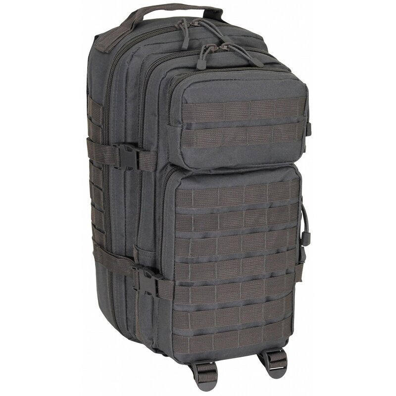 MFH US Backpack - Assault I - Basic - urban grey