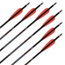 Complete arrow | SKYLON Empros - 3K Carbon - factory fletched - Pack of 6