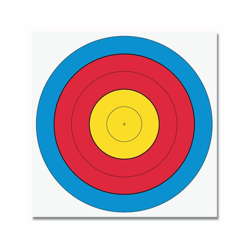Target Face - FITA - 80 cm Center (Distance 30/50 m)