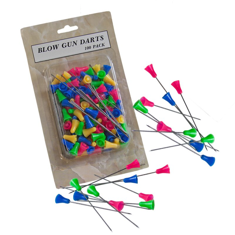 Replacement Needles for Blowgun - 100 Pieces