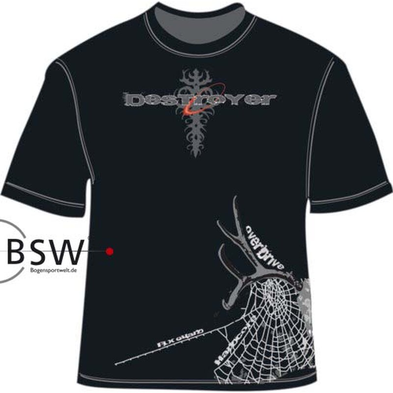 T-Shirt - BOWTECH Mens - Destroyer - schwarz Gr. S