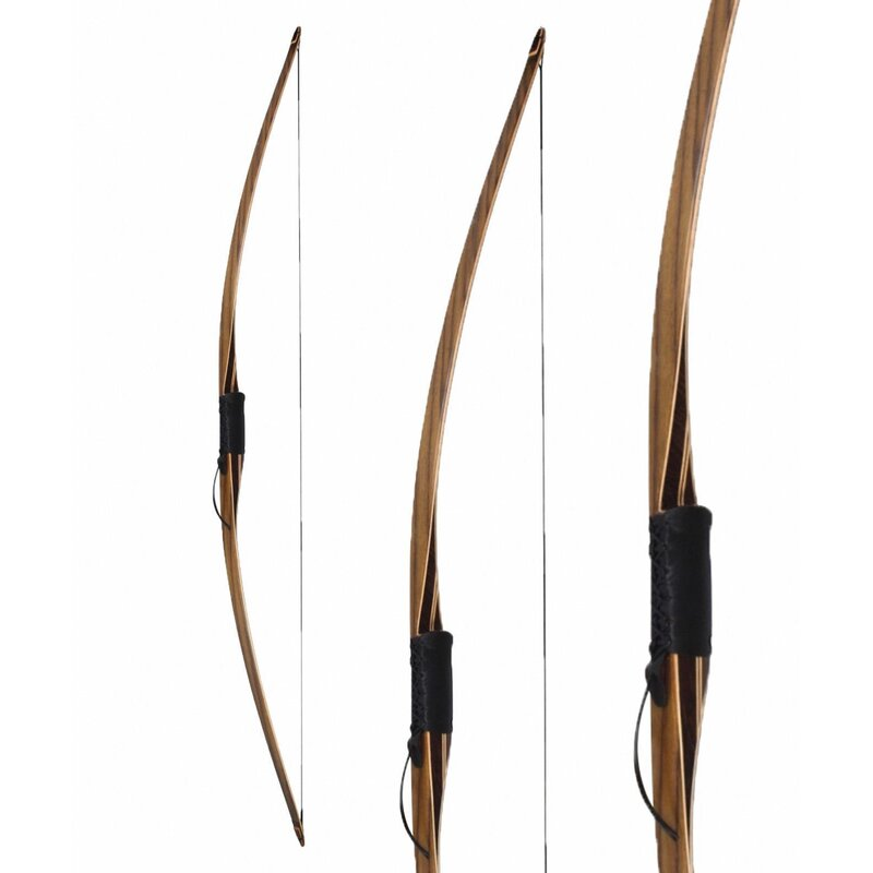 SET BIG TRADITION Black Trophy - 68 - 30-55lbs - Longbow