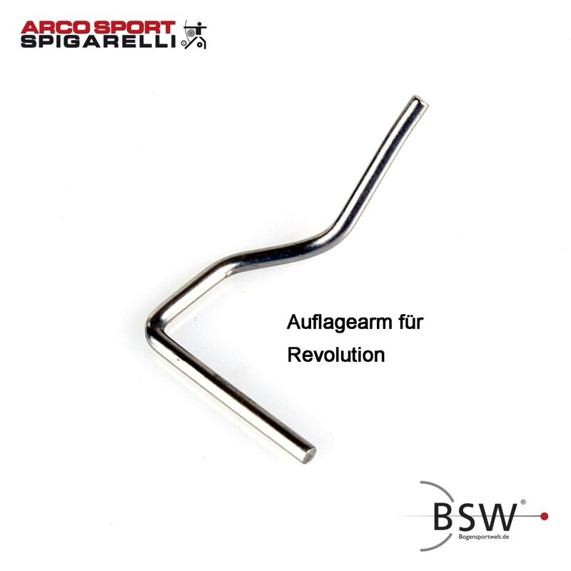 SPIGARELLI Support Arm for Revolution Arrow Rest