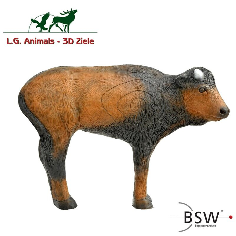 LEITOLD Standing Bison Calf [***]