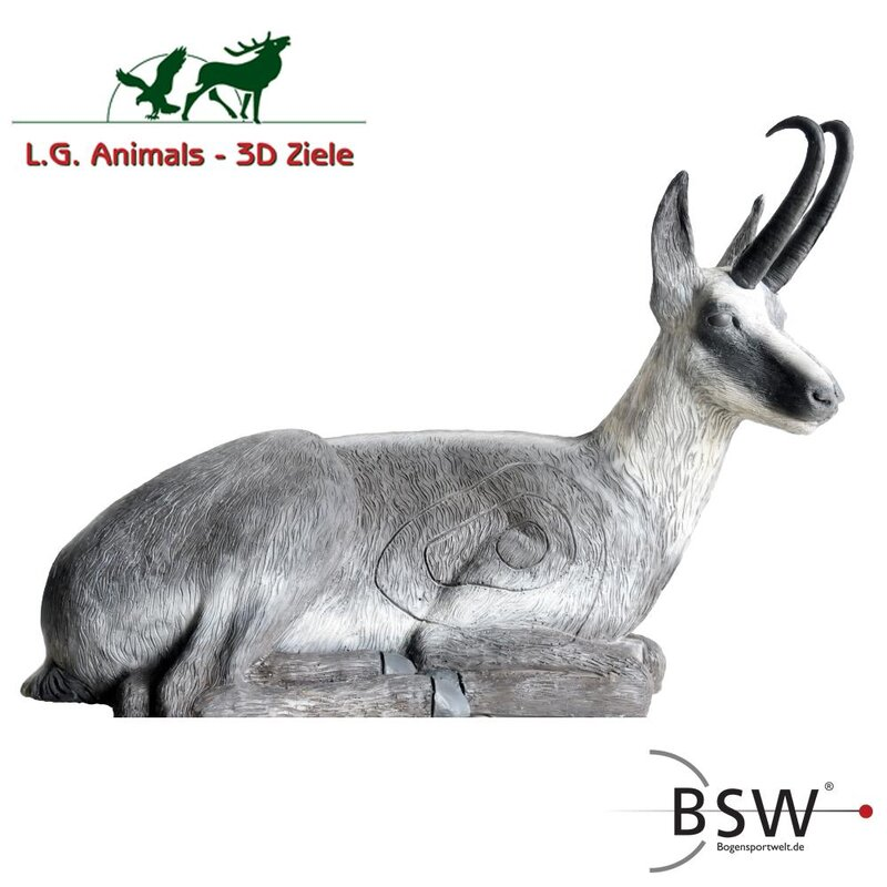 LEITOLD Sitting Chamois