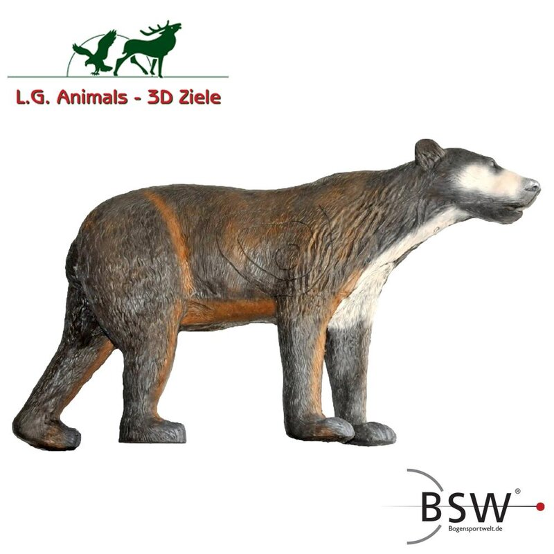 LEITOLD Running Brown Bear [Forwarding Agent]