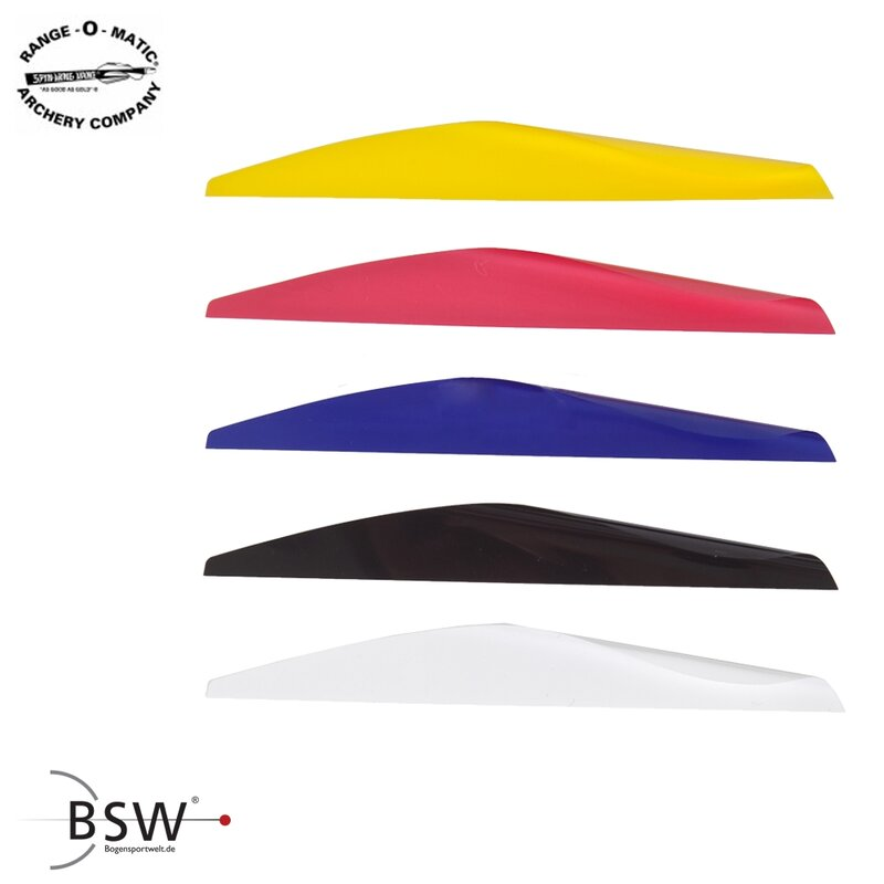 SPIN-WING Hunter Vanes - 4 or 5 - 50 Pieces