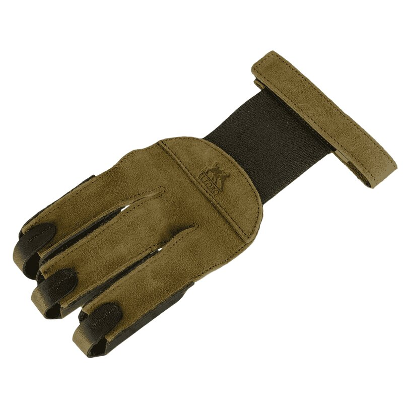 elTORO Finger Glove - Brown-Black