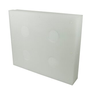 STRONGHOLD Professional 5 - 120x100x20 cm - with 4...