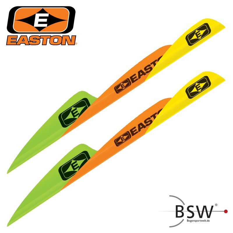 2nd CHANCE | EASTON Tite Flight - 2.35 Zoll - Parabolic - Weiß - Neuware