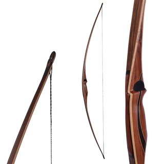 """Bearpaw Strongbow traditional Star Long 68/"""" inglés Lang arco Longbow arco"""