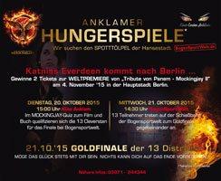 Anklamer Hungerspiele - Verlosung 2 Tickets Weltpremiere