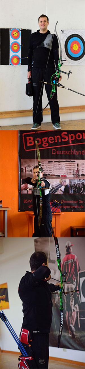 Ionut Paulet - Sponsoringschütze bei BSW seit 2013