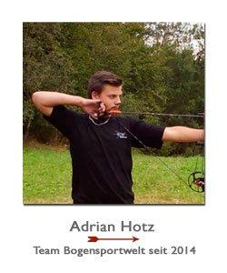 Compounschütze Adrian Hotz bei der BogenSportWelt.de