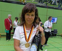 Deutsche Meisterin Annedore Röbisch Biberach 2015