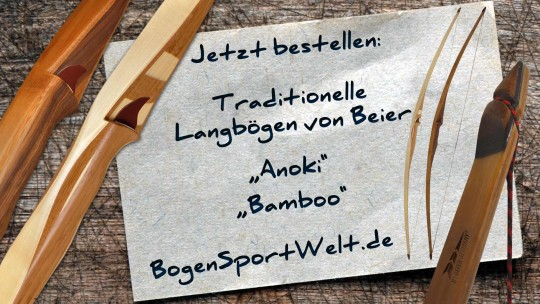 Langbogen Anoki und Bamboo