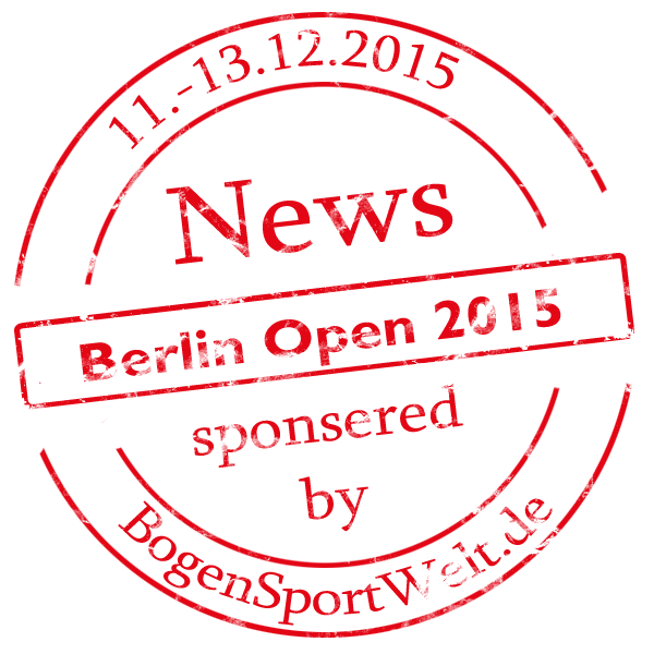 Berlin Open 2015 - sponsored by BogenSportWelt.de