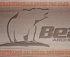 Traditionelle Bögen von Bear Archery
