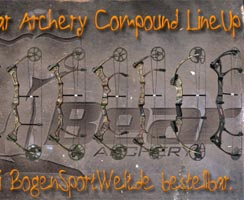 Bear Archery Compound LineUp 2012