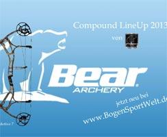 Compound LineUp 2013 von BEAR ARCHERY