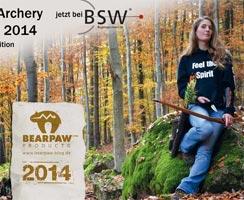 Bearpaw Archery Kalender 2014