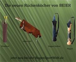 Die neuen Rückenköcher von BEIER