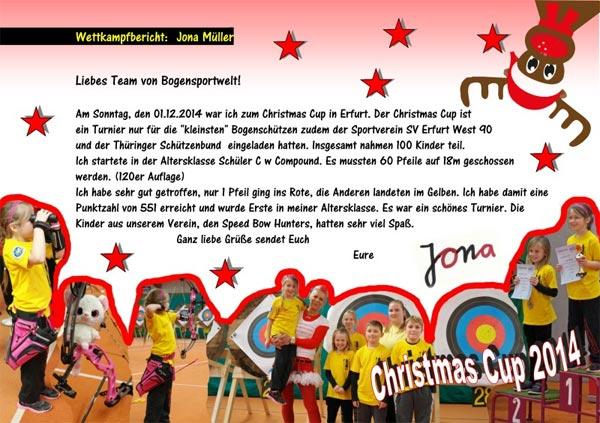 Christmas Cup Erfurt