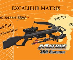 Speed Pur mit der Excalibur Matrix 380