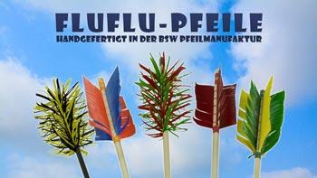FLU-FLU-Pfeile aus der BSW-Pfeilmanufaktur