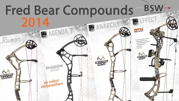 Fred Bear Compound Line-Up 2014