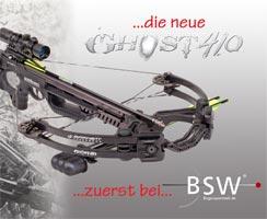Die neue Armbrust Ghost 410 von Barnett - zuerst bei uns!