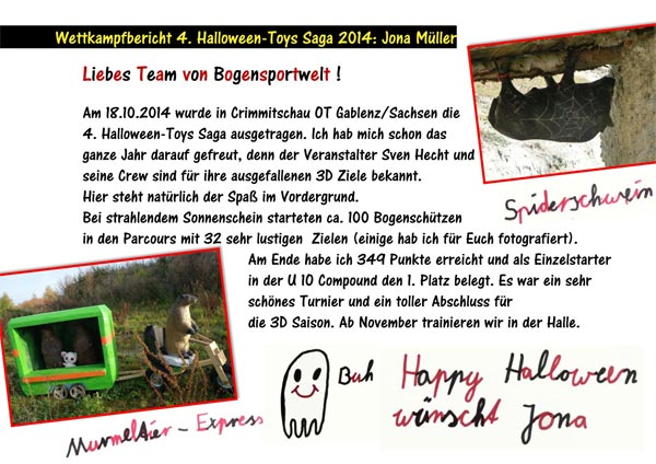 4. Halloween-Toys Saga in Crimmitschau