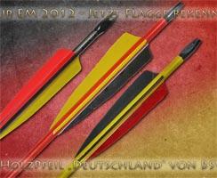 """Der Holzpfeil """"Deutschland"""""""