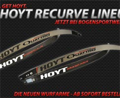 Hoyt Recurve Line-Up 2014 II