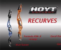 HOYT Recurves - die neuen Modellen für präzises Schießen