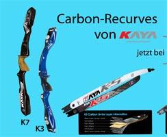 Carbon-Recurves von KAYA
