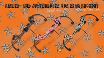 Bögen für Kinder und Jugendliche von Bear Archery