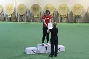 Kreismeisterschaft Bogen Hallenrunde 2014