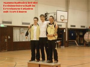 Kreismeisterschaft des RSB in Leverkusen Opladen