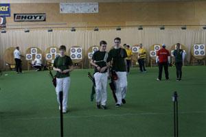 Bogensport Berlin Landesliga Felix Larz