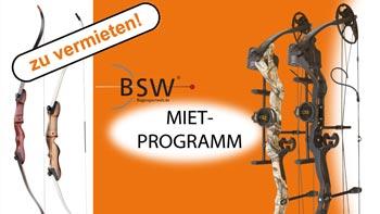 Unser neues Bogen-Mietprogramm