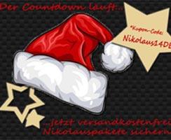 Nikolauspakete jetzt versandkostenfrei bestellen!
