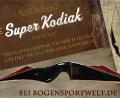 Der Super Kodiak Black Phenolic von Fred Bear