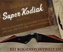 Der Super Kodiak Black Phenolic von Fred Bear