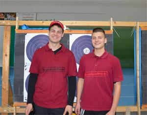 Wettkampfbericht Adrian Hotz Bogenschießen