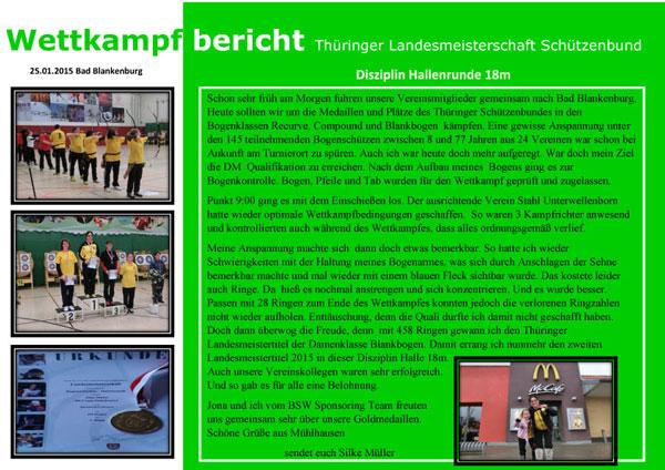 Thüringer LM Schützenbund