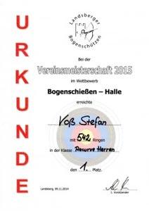 Vereinsmeisterschaft Halle in Landsberg am Lech